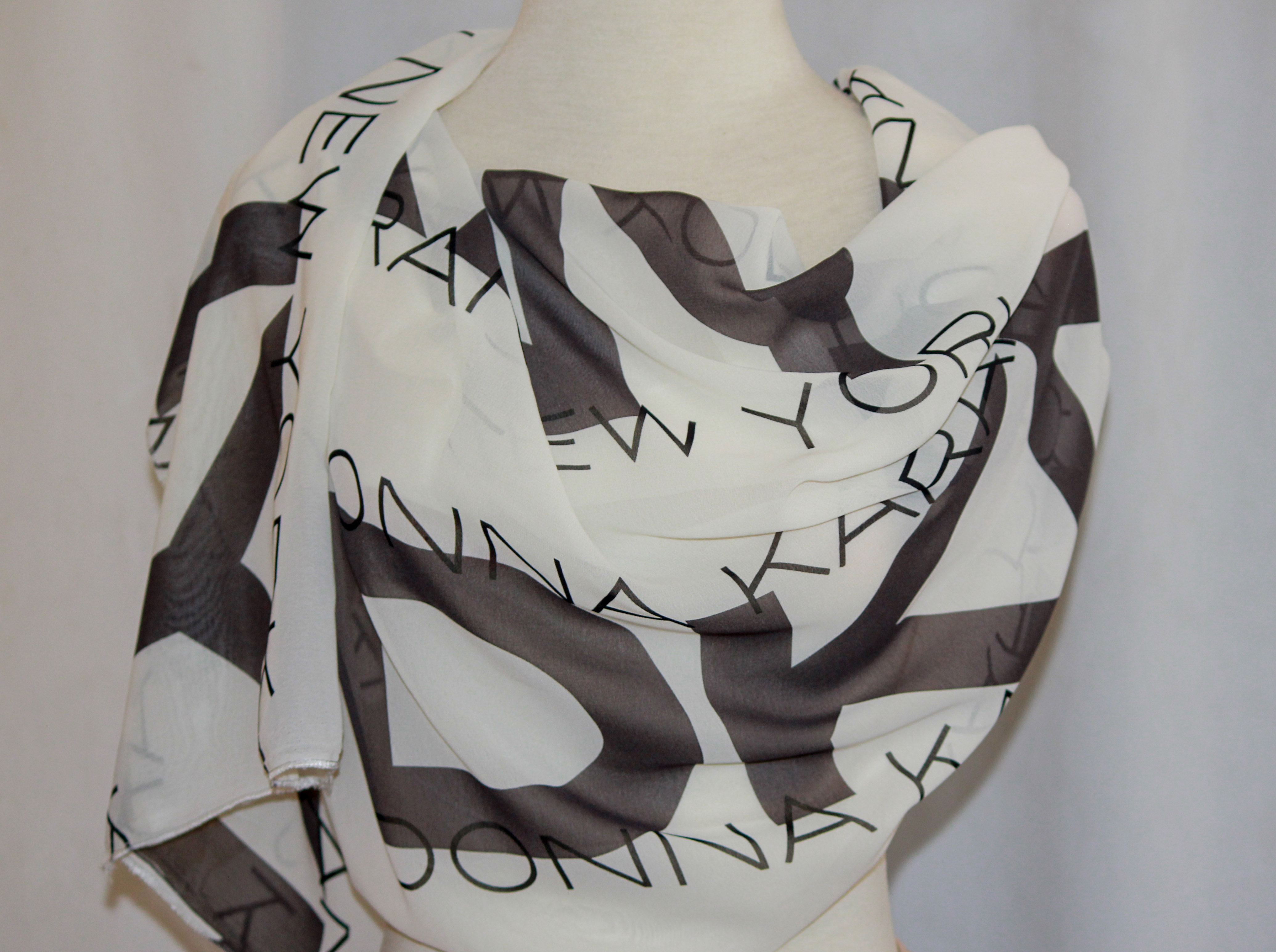DKNY Print Scarf on arewa fashion
