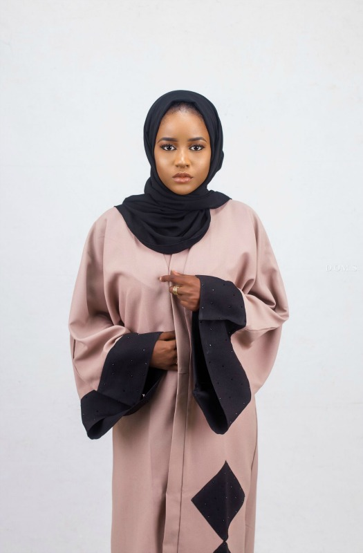 Opened Abaya on arewa fashion