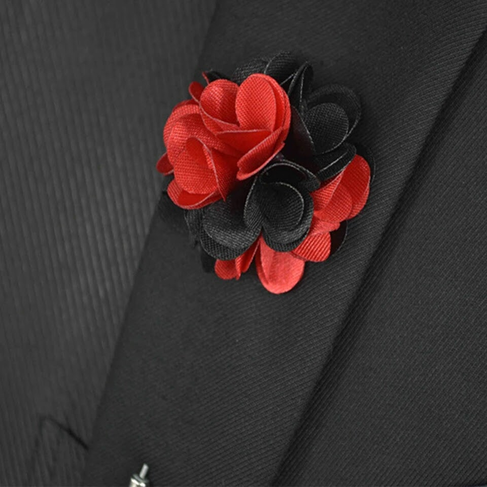 Flower Lapel Pin on arewa fashion