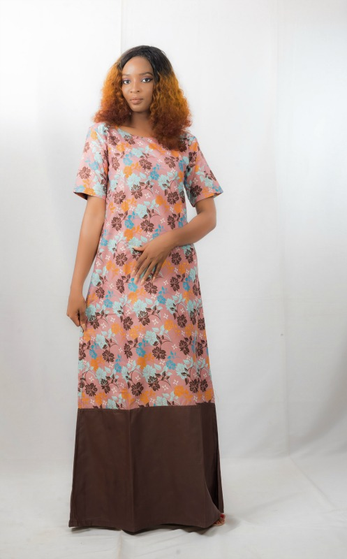 Bilkisu Maxi Dress on arewa fashion