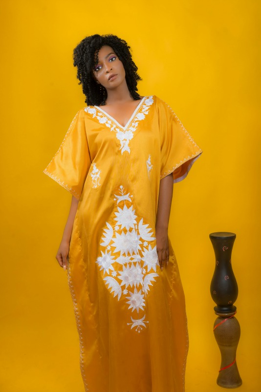 Victoria Hand Embroidered Bubu 2 on arewa fashion